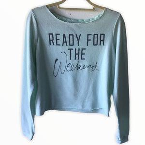 Victoria's Secret Cropped Sweatshirt